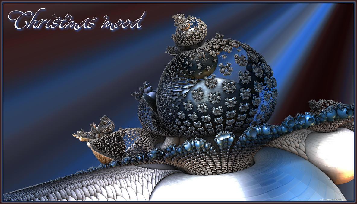 2014 12 25  Christmas Mood. by fractalbeke