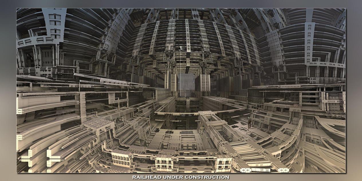 2014 12 30 Railhead Under Construction by fractalbeke