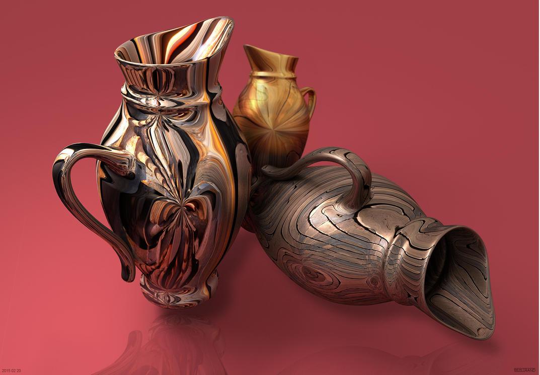 2015 02 20 Pottery by fractalbeke