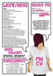 Resume Design by MegaBoneDesigns
