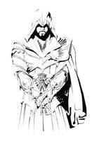 Ezio Auditore Da Firenze by MegaBoneDesigns
