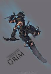 Commission : Grim by bayanghitam