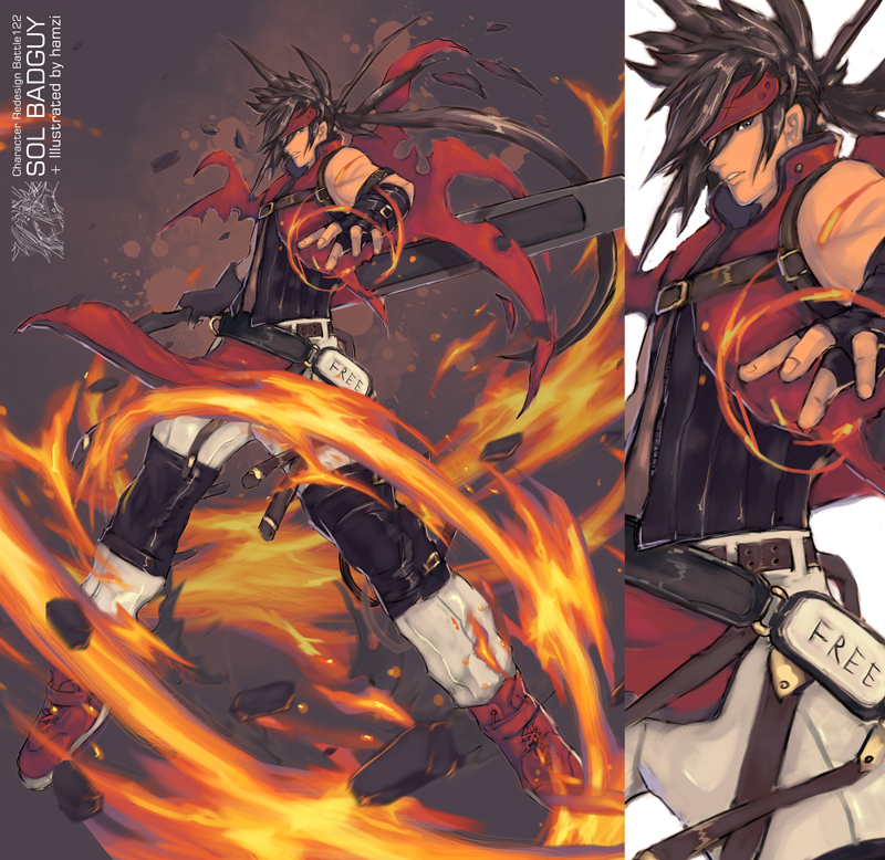 Guilty Gear Wallpaper: Sol Badguy By Bayanghitam On DeviantArt