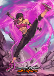 CFAS fighter : Faye Elise by bayanghitam