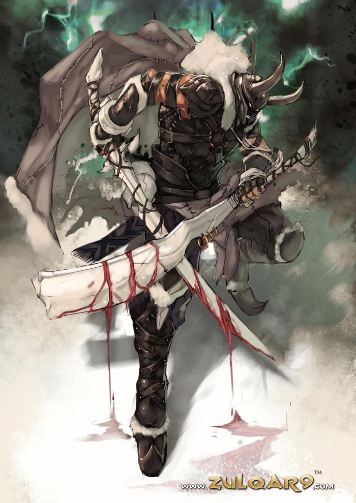 Zulqar9 : King Roderick by bayanghitam