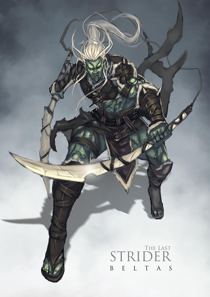 The Last Strider : Beltas by bayanghitam
