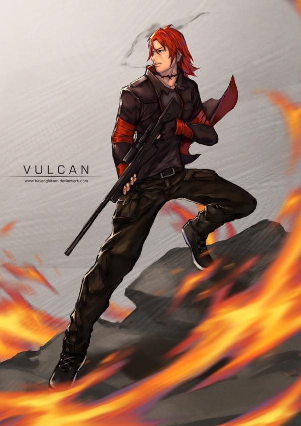 Vulcan by bayanghitam