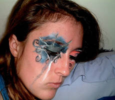 face paint 2 by Gleeby