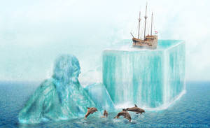 An Icy Pirate's Lost Ship
