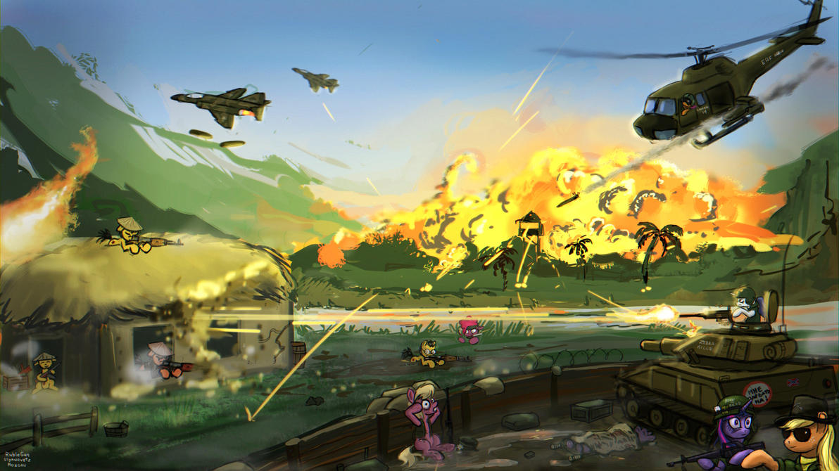 Ponypocalypse Now by PrincessOfBeauxArts