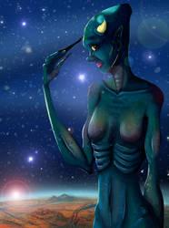 Alien Stars by JJJorgie
