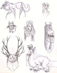 Sketches by Zooshi