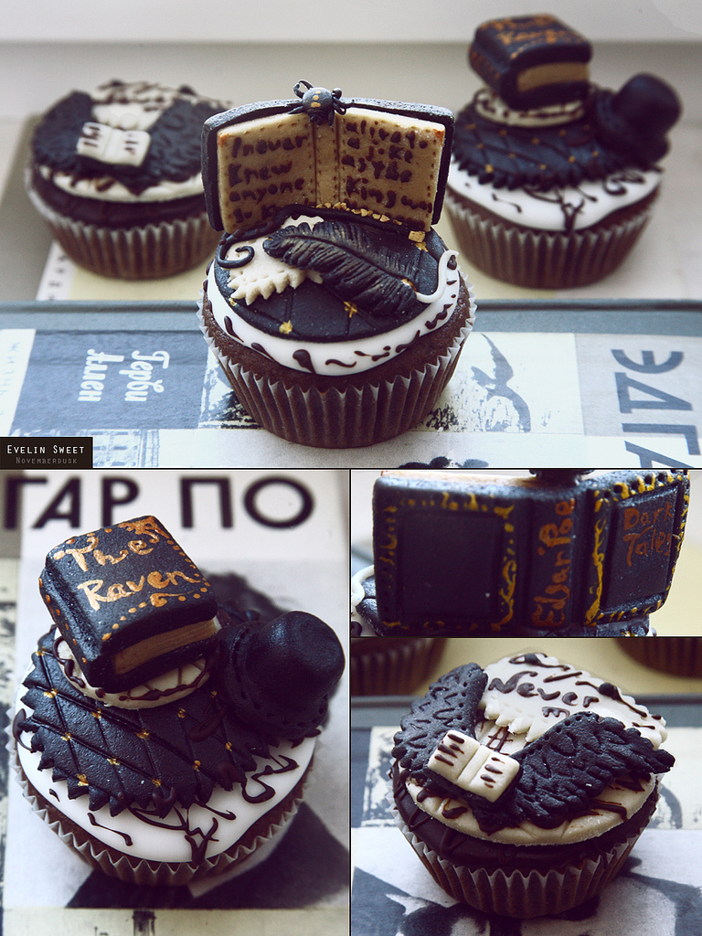 Quoth the cupcake, 'Nevermore'