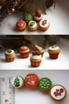 Supermini X-mas cupcakes