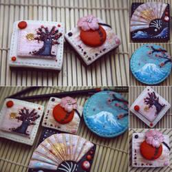 Geisha cookies