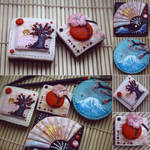 Geisha cookies by Evelin-Novemberdusk