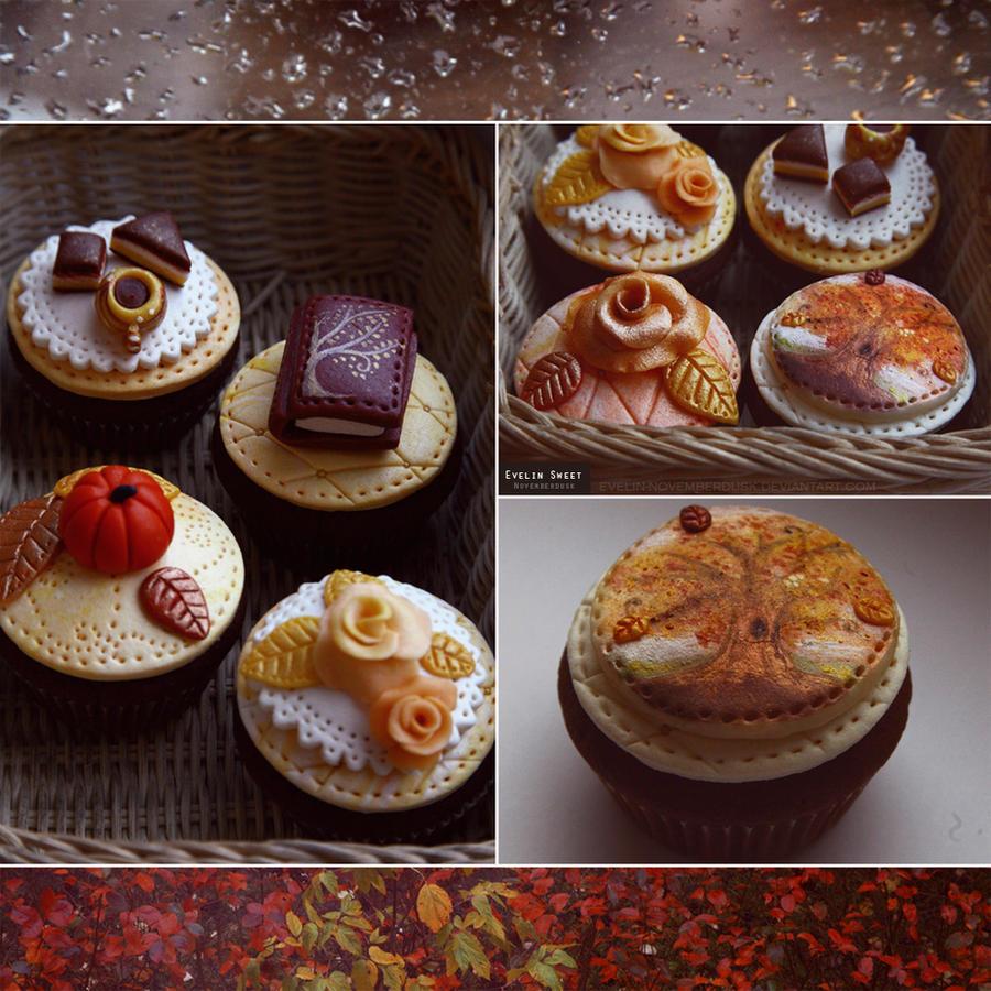Fall's cakes by Evelin-Novemberdusk