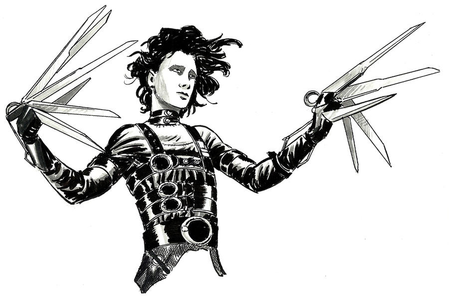 how edward scissors hands reflects tim German expressionism consisted of a number of related creative  filmography of director tim  tale suburban landscape of edward scissorhands.