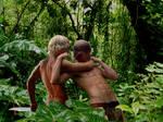 Battle of the Jungle Teens - KA-ZAR VS TARZAN