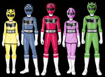 Kyokko Sentai Saikouger / 2018 Suits  by SantoKuma