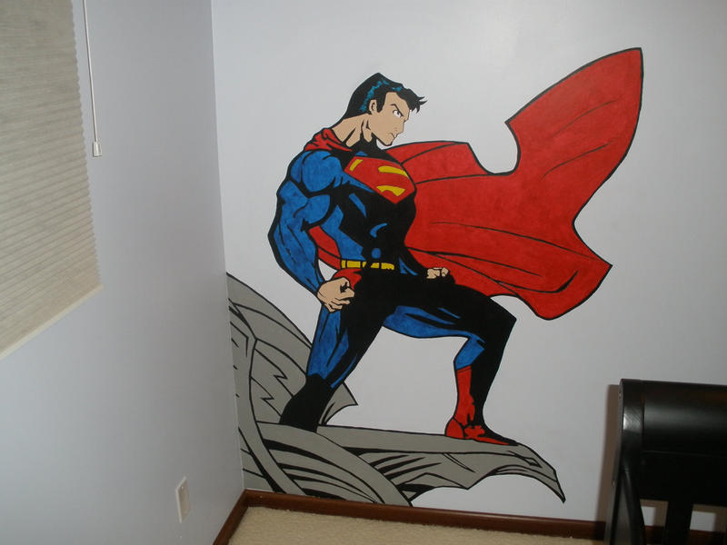 Superman Mural By Shroggy ...