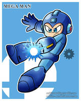 SSB Ultimate Collection: Mega Man by Rublitz-Art
