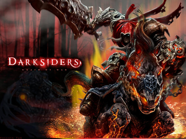 Darksiders War Wallpaper By: Darksiders: Wrath Of War By HopeInYou On DeviantArt