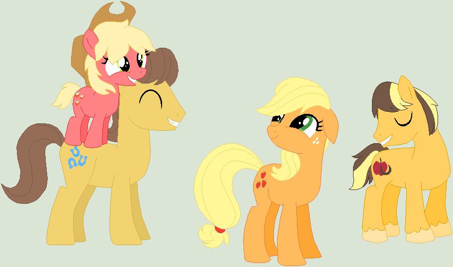 My Little Pony Pregnant Applejack - More info