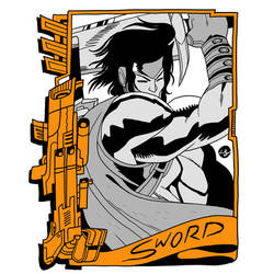 Commission by reyyyyy: Sword by luke-crowe