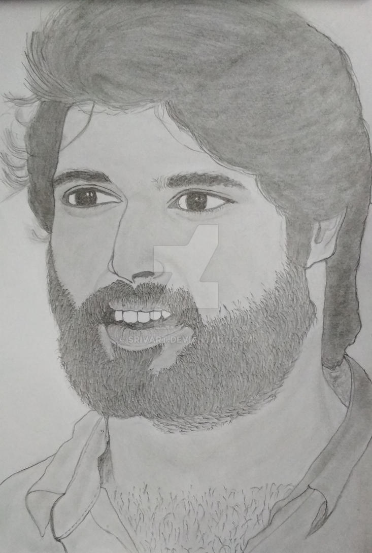 Vijay Devarakonda Drawing Photos