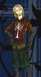 Young Prince of Gondor by BBMacToma