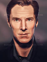 Benedict Cumberbatch by BBMacToma