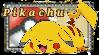 Pikachu Stamp by C3RC3TA