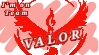 I'm on team VALOR! Stamp by C3RC3TA