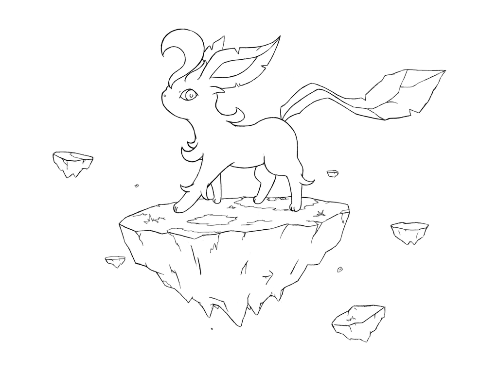 leafeon coloring pages - photo#20