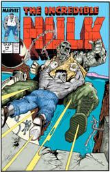 Hulk 348 Cover Recreation by garystrange