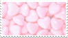 Heart Candies Stamp