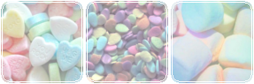 Pastel Candies Divider by King-Lulu-Deer-Pixel