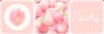 Peachy Divider by King-Lulu-Deer-Pixel