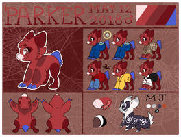 W | Parker Reference Sheet 2k19 by Taeqii