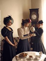 Tea party by cunene
