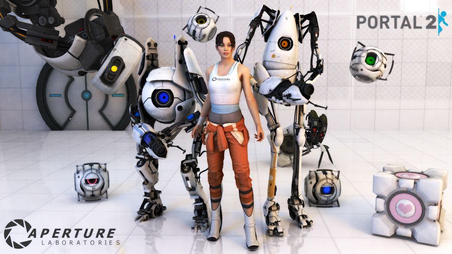 Portal 2: -Final- Updated by Cloudi5 on DeviantArt