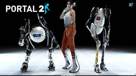 Portal 2 by Cloudi5