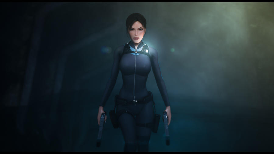 Tomb Raider Underworld - Entering Helheim by Cloudi5