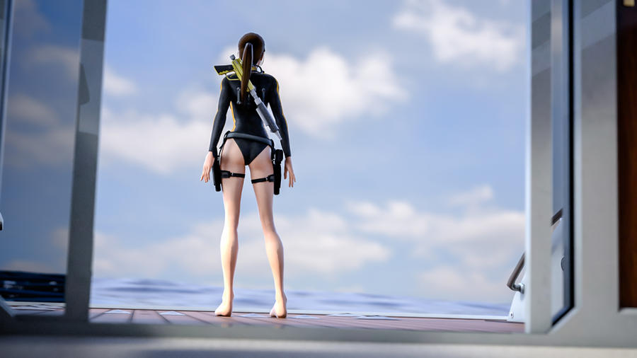 Tomb Raider Underworld - Mediterranean sea by Cloudi5