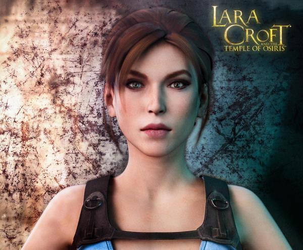 Lara Croft by Cloudi5