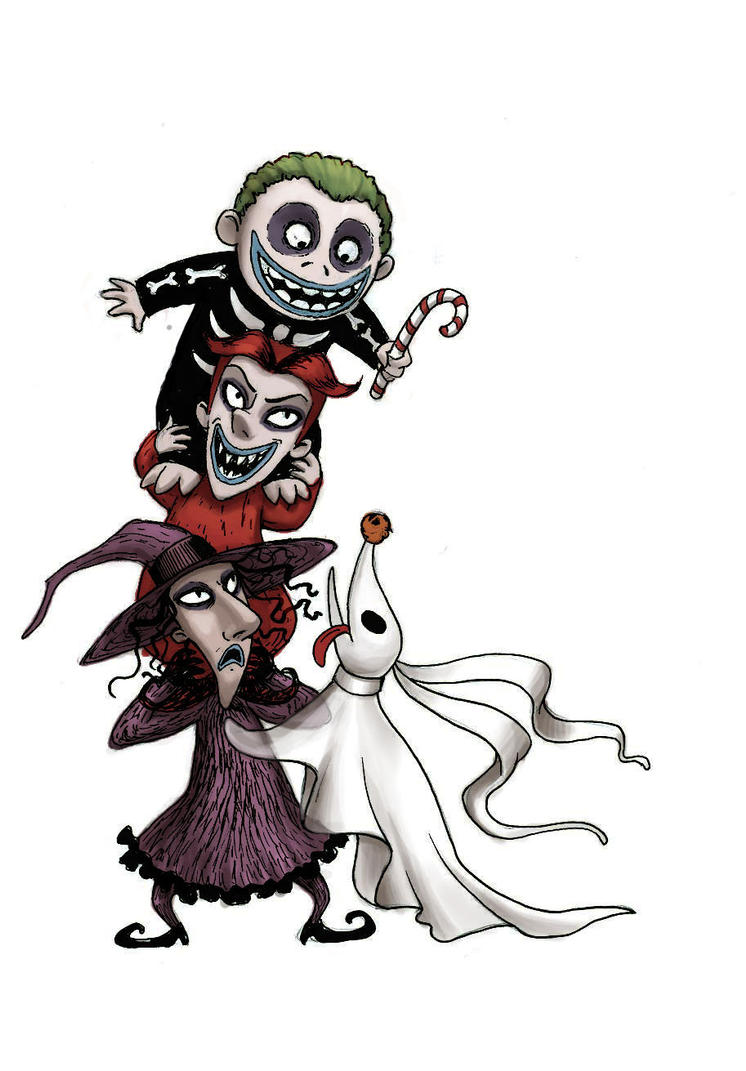 Lock, Shock, and Barrel - The United Organization Toons ... |Nightmare Before Christmas Characters Barrel