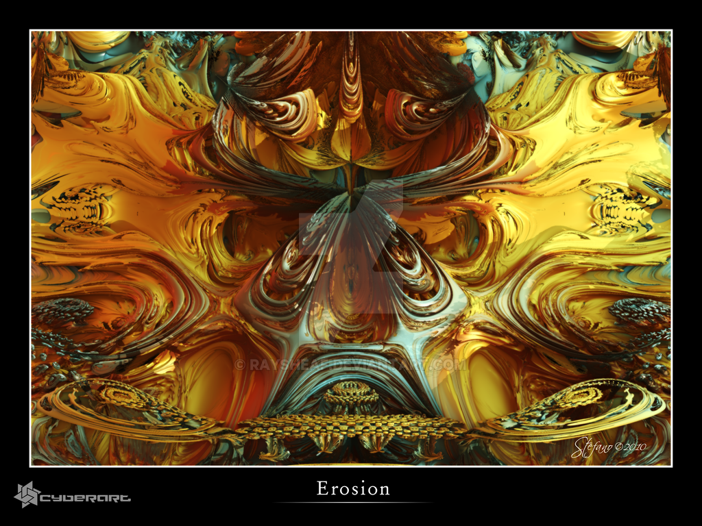 Erosion by raysheaf