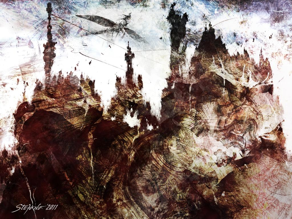 Dark Castles by raysheaf