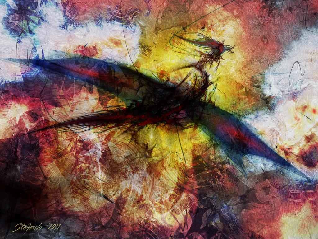 The Dragon by raysheaf